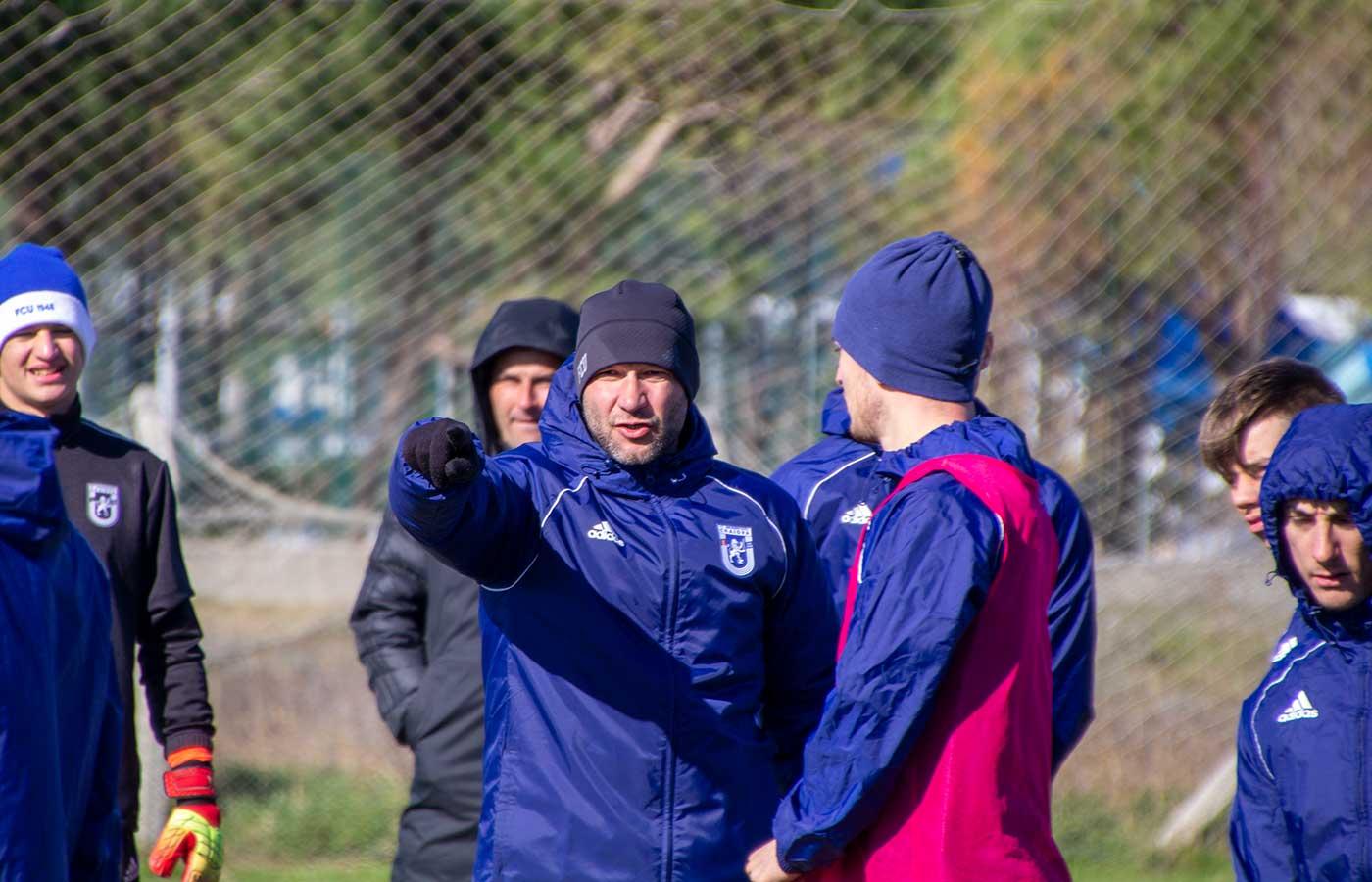 VIDEO FCU - Cantonament Antalya 2020 - 9 februarie