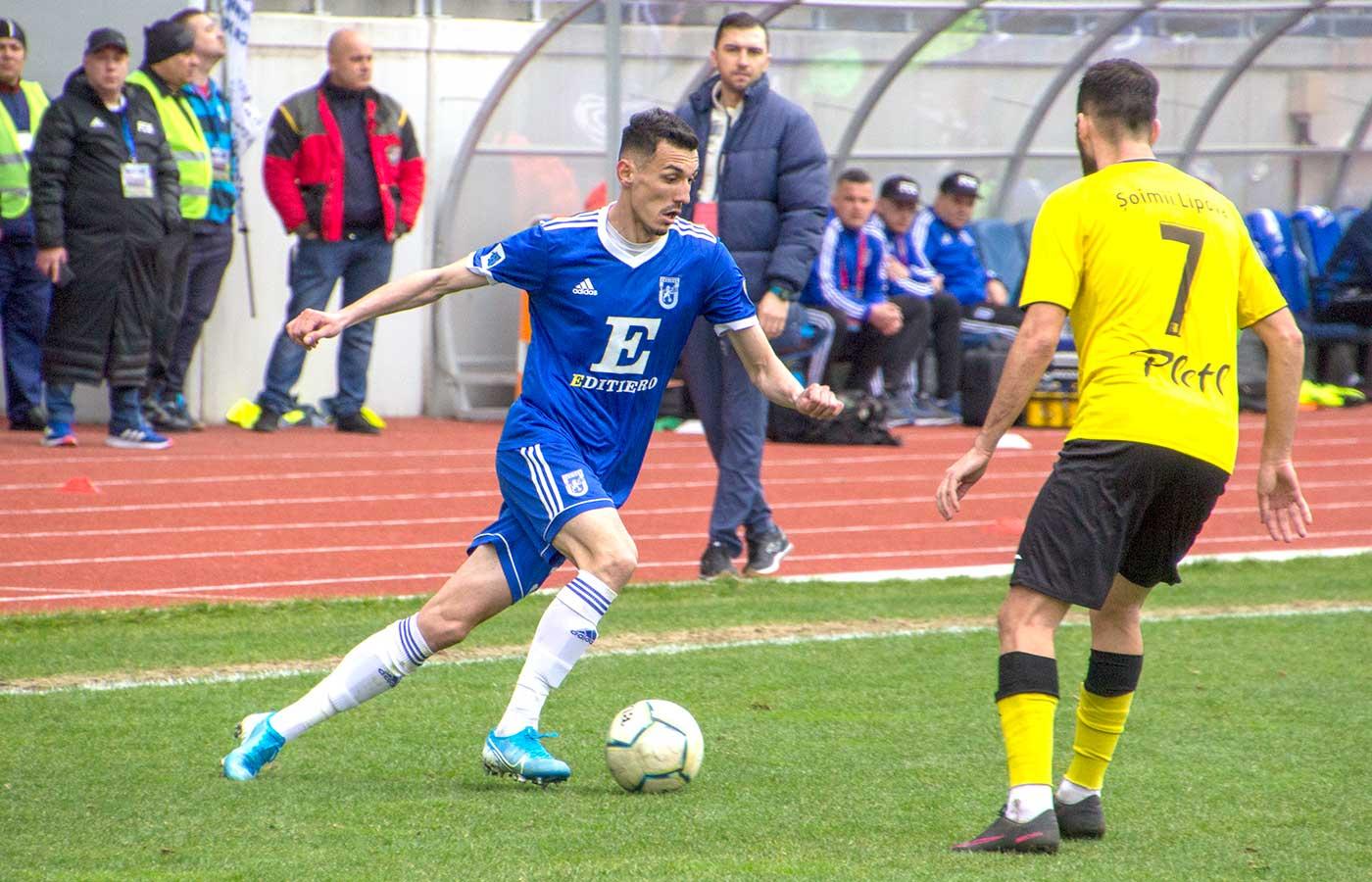 LIVE FC Universitatea - Șoimii Lipova