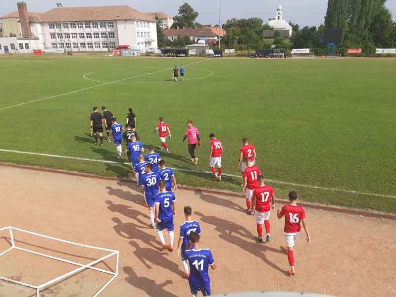 AMICAL Chișineu Criș - FCU 0-0 - A doua repriză - 31.07.2019