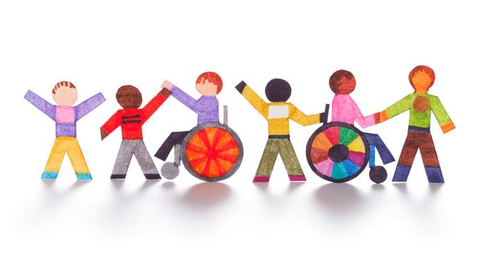 disabled group